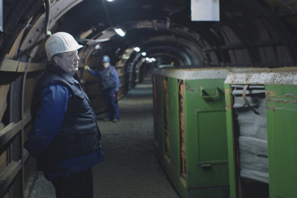 Im Film gibt es Einblicke in das Bergwerk Zinnkammern.