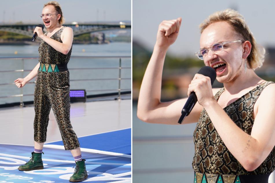 """DSDS: Crazy DSDS-Kandidat Luki kann zwar nicht singen, überzeugt aber mit """"Unverschämtheit"""""""