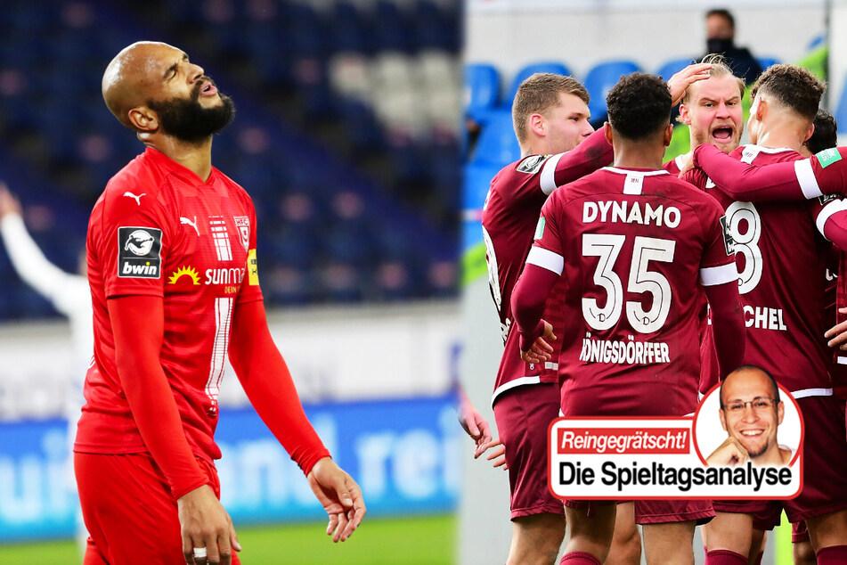 Dynamo begeistert, HFC enttäuscht, Magdeburg verpasst Befreiungsschlag!