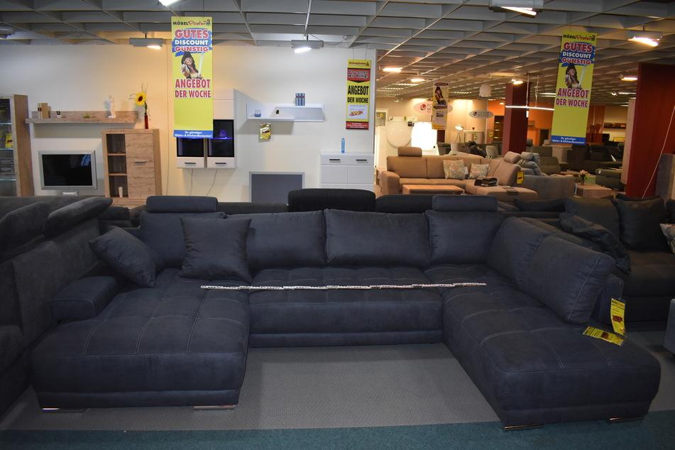 Ein Sofa dieser Art wurde gestohlen.
