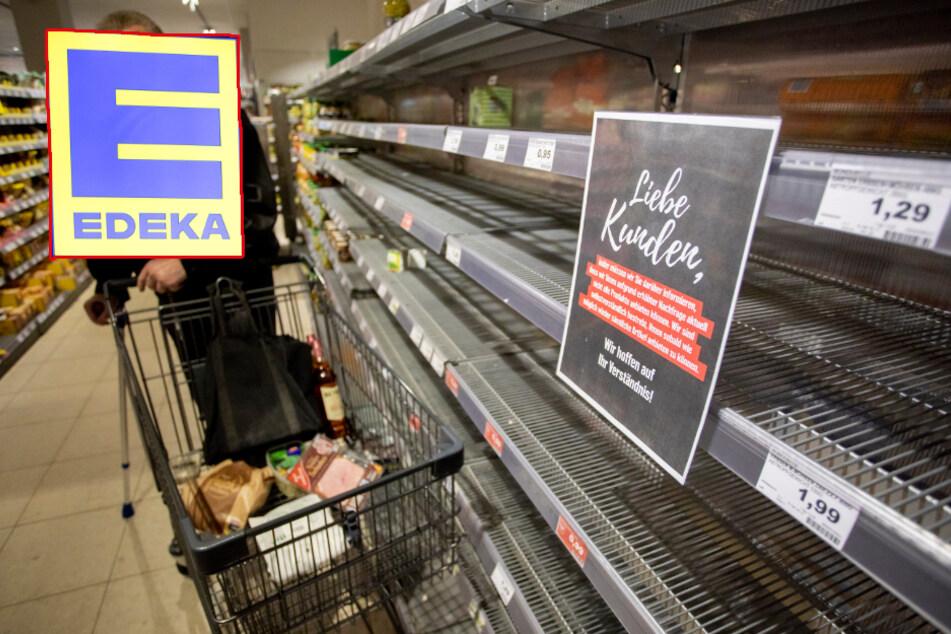 Hamburg: Coronavirus: Lebesmittelkonzern Edeka widerspricht Fake-News energisch