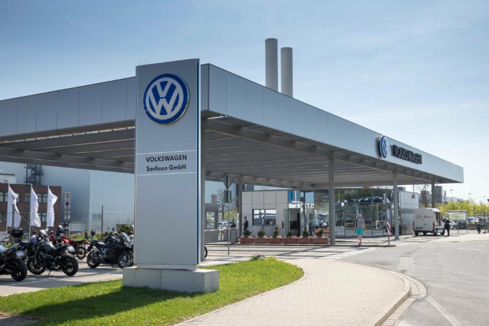 Ab Montag fährt VW die Produktion in Zwickau wieder hoch.