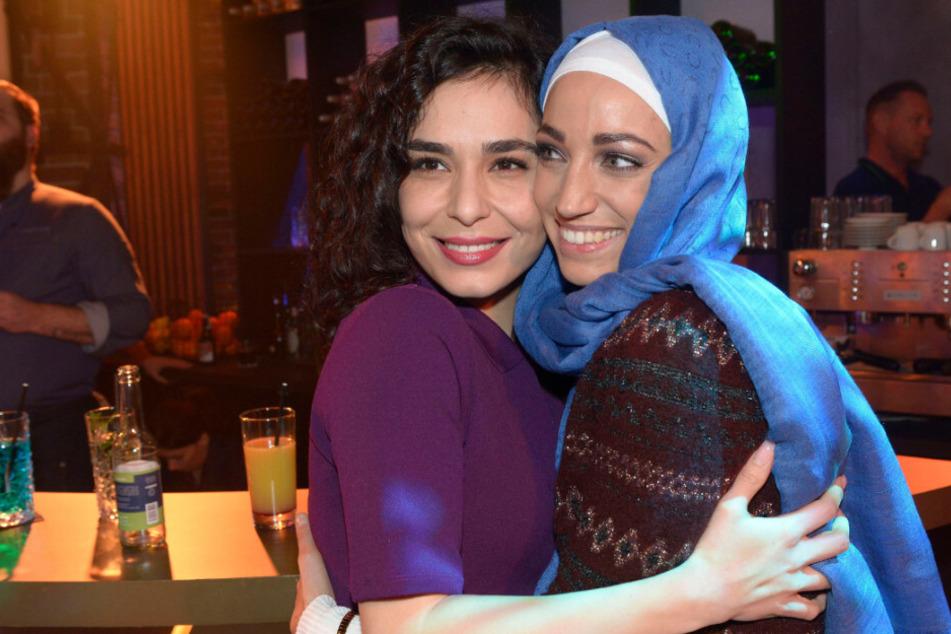 Shirin (l) und Nazan (r) waren schon damals gute Freunde.