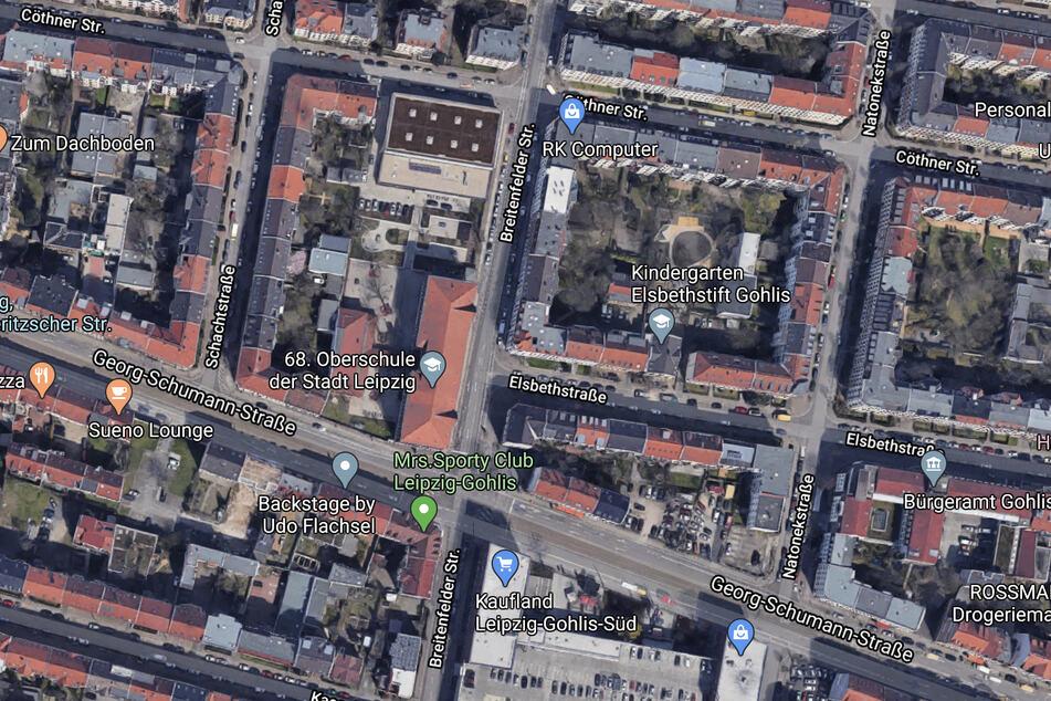 Auf der Georg-Schumann-Straße im Norden der Stadt ereignete sich der Unfall.