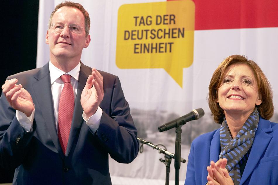 Die rheinland-pfälzische Ministerpräsidentin Malu Dreyer (SPD) und der Mainzer Oberbürgermeister Michael Ebling.