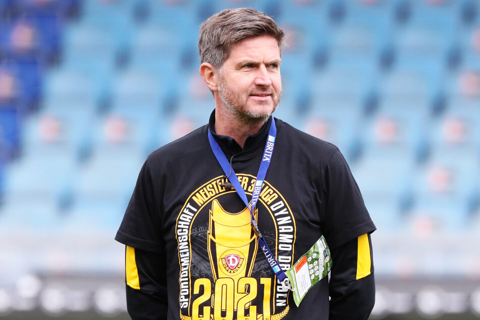 Ralf Becker (50) will mit Dynamo in der kommenden Saison den Klassenerhalt in der 2. Bundesliga schaffen.
