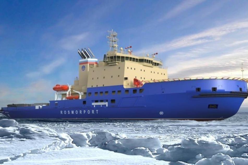 Hamburger Werft baut modernen Eisbrecher für Russland