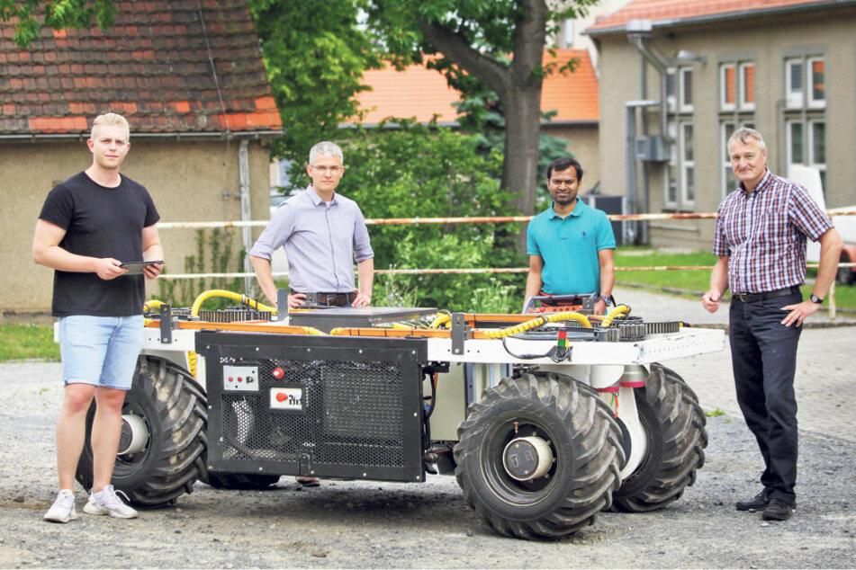 Packt dieser Roboter bald auf der Plantage mit an?