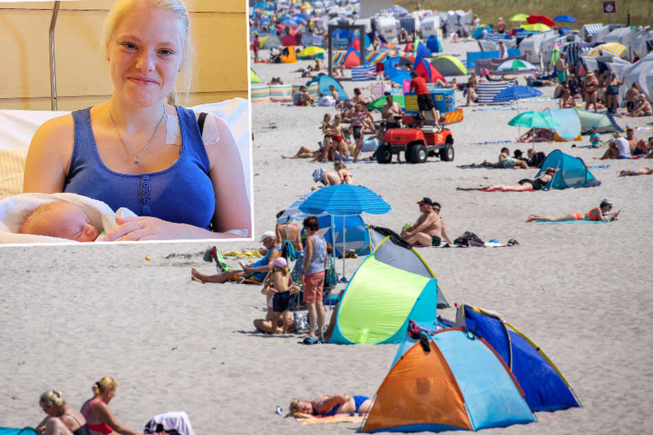 Blasensprung am Strand! Dann ging es für Sophie (18) aus Leipzig ganz schnell