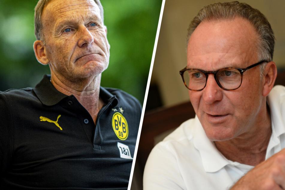 """Rummenigge und Watzke fürchten: Leute könnten """"Interesse am Fußball verlieren"""""""