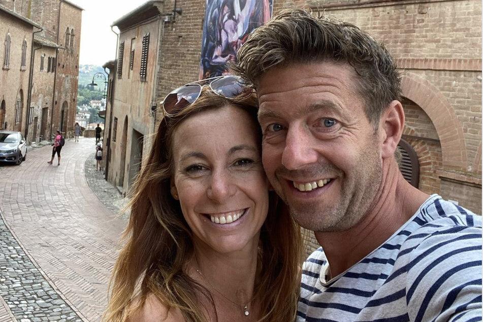 Jörg Färber und Michaela Koschak sind bereits seit einigen Jahren ein Paar.