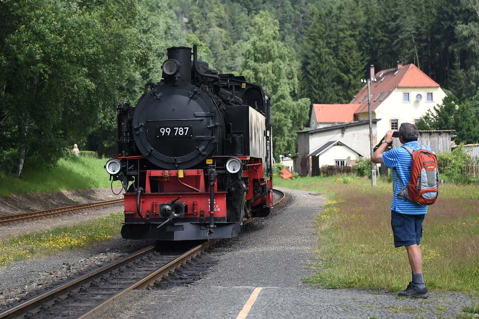 Die Zittauer Schmalspurbahn wurde angegriffen! (Archivbild)