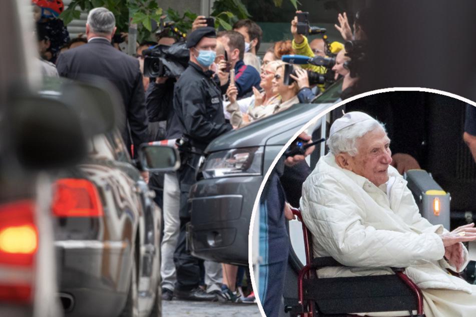Ausnahmezustand in Regensburg: Papst Benedikt (93) blüht durch Besuch bei Bruder auf