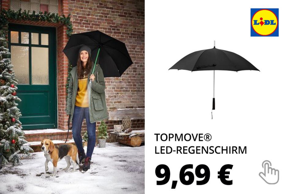 TOPMOVE® LED-Regenschirm