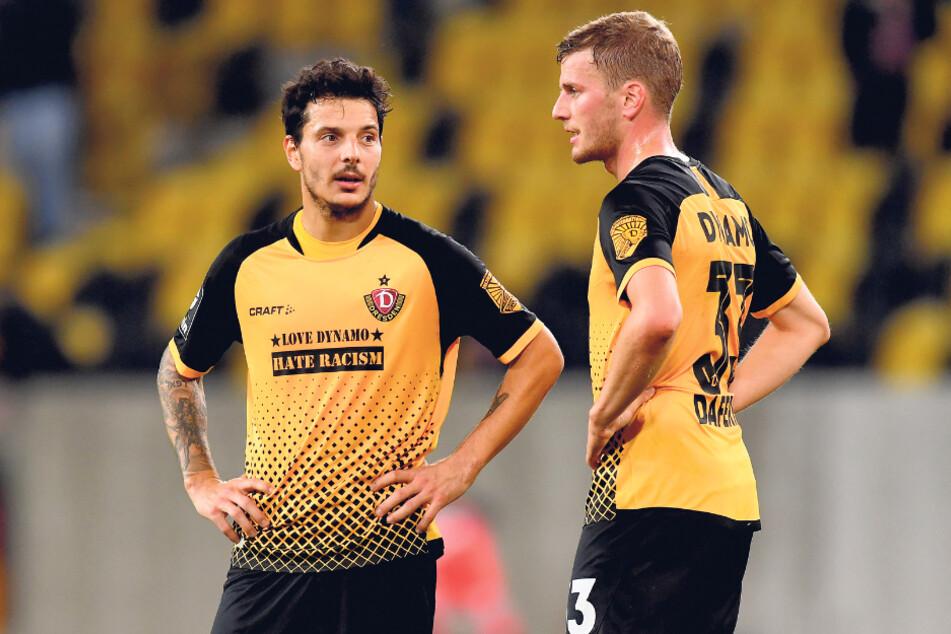 Philipp Hosiner (l.) und Christoph Daferner werden auch heute in Saarbrücken das Sturmduo bilden. Ihr Zusammenspiel klappte gerade gegen Meppen sehr gut.