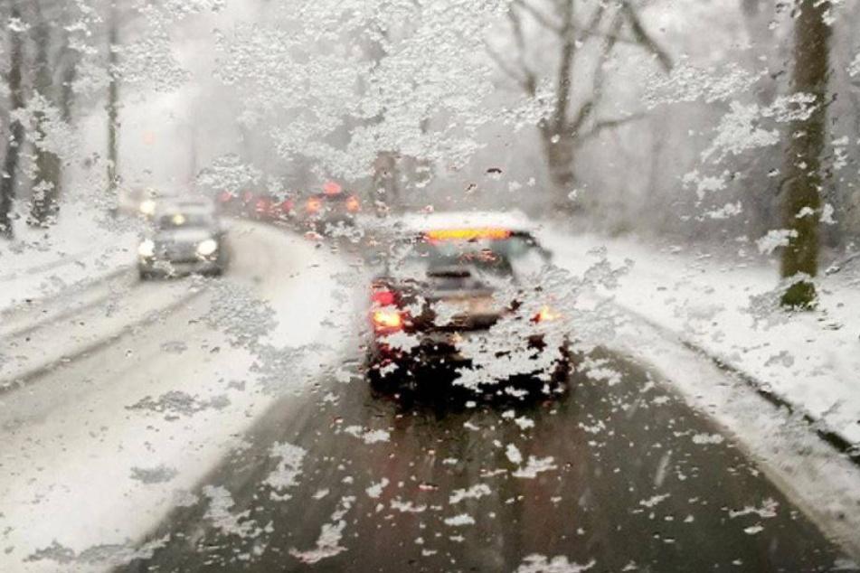 Oh Nein! Statt Frühling kommen Glätte und Schnee