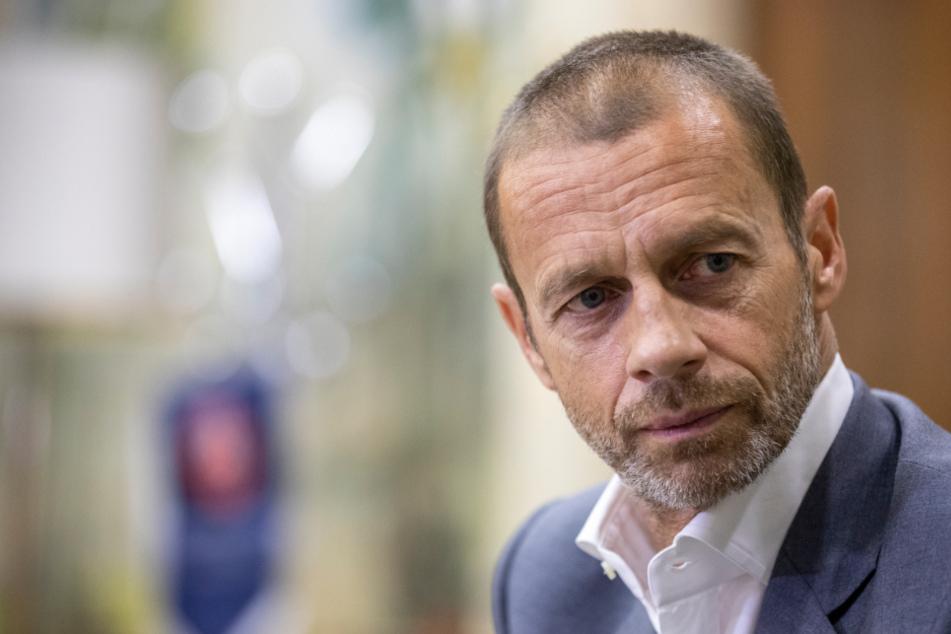 UEFA-Präsident Aleksander Ceferin (52).