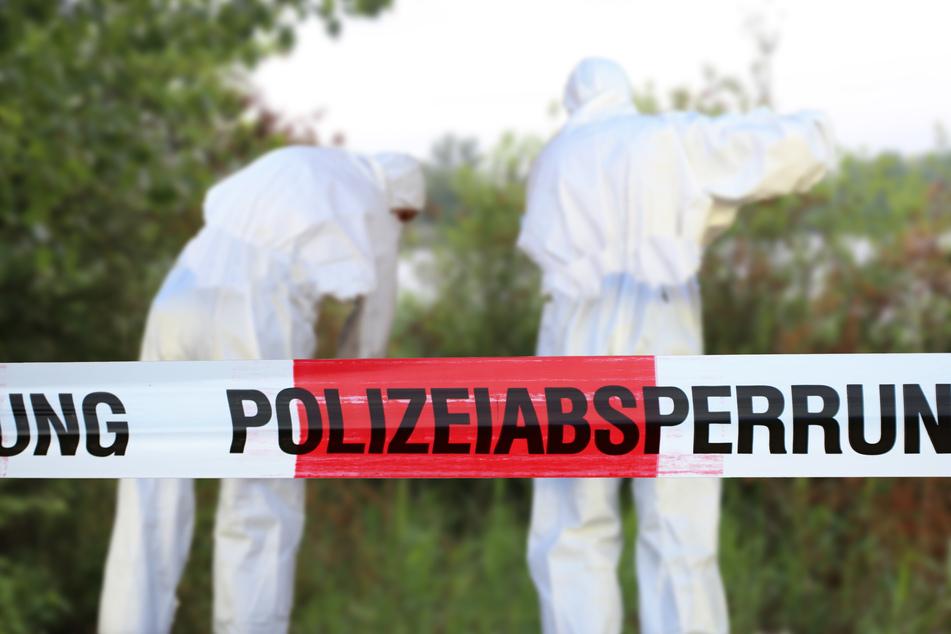 Die Polizei hat in einem Wald in Ratingen eine leblose Person gefunden und die Ermittlungen aufgenommen. (Symbolbild)