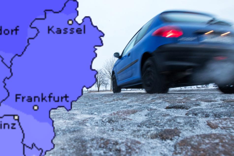 Heute in Frankfurt und Hessen: Glätte-Gefahr, Wind und Schmuddelwetter