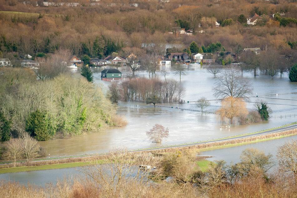 Vor allem in Nord- und Westeuropa wird es künftig immer häufiger Hochwasser geben. (Symbolbild)