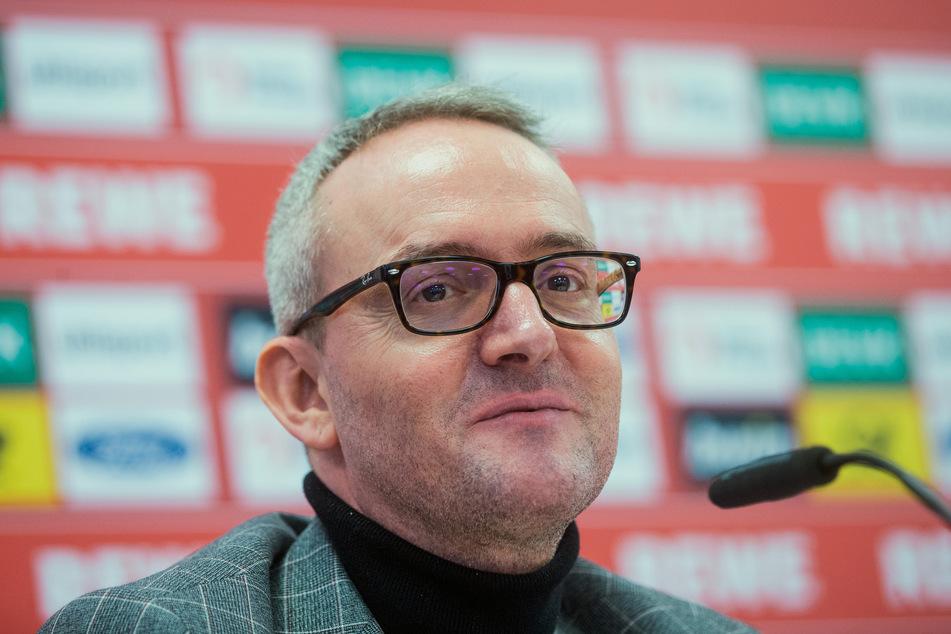 Alexander Wehrle (45), Finanzchef des 1. FC Köln, rechnet damit, dass bis April 2021 alle Spiele in der Fußball-Bundesliga ohne Zuschauer stattfinden müssen (Archivbild).