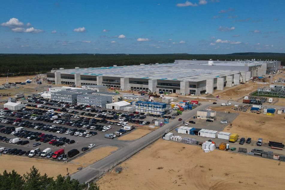 Die Tesla-Gigafactory in Grünheide bei Berlin soll voraussichtlich Ende 2021 die Produktion aufnehmen.