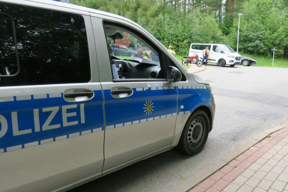 Moped-Fahrerin bei Unfall im Erzgebirge verletzt