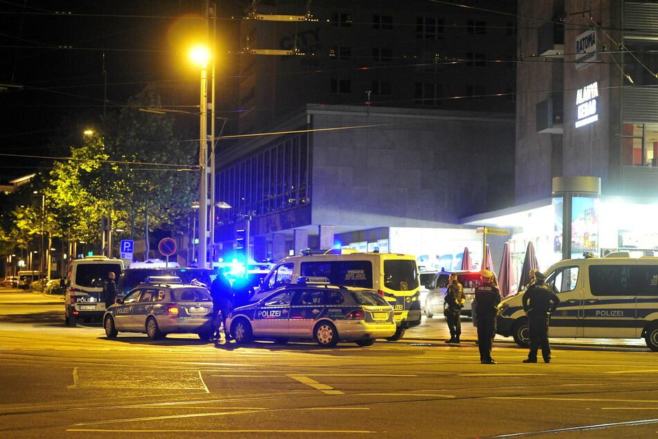 Im Bereich Brückenstraße/ Straße der Nationen kam es in der Nacht zu Sonntag zu mehreren Auseinandersetzungen. (Archivbild)