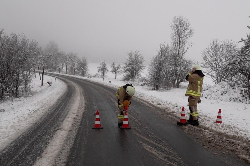 Im Harz mussten mehrere Straßen gesperrt werden.