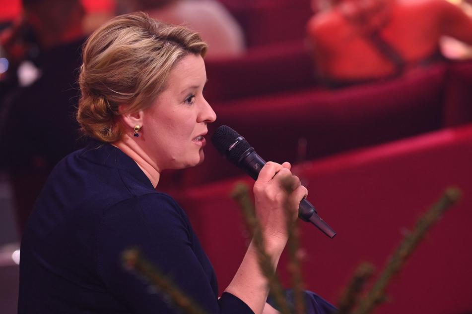 """Bundesfamilienministerin Franziska Giffey (42, SPD) sieht bei der """"Querdenken""""-Bewegung den Verfassungsschutz gefordert."""