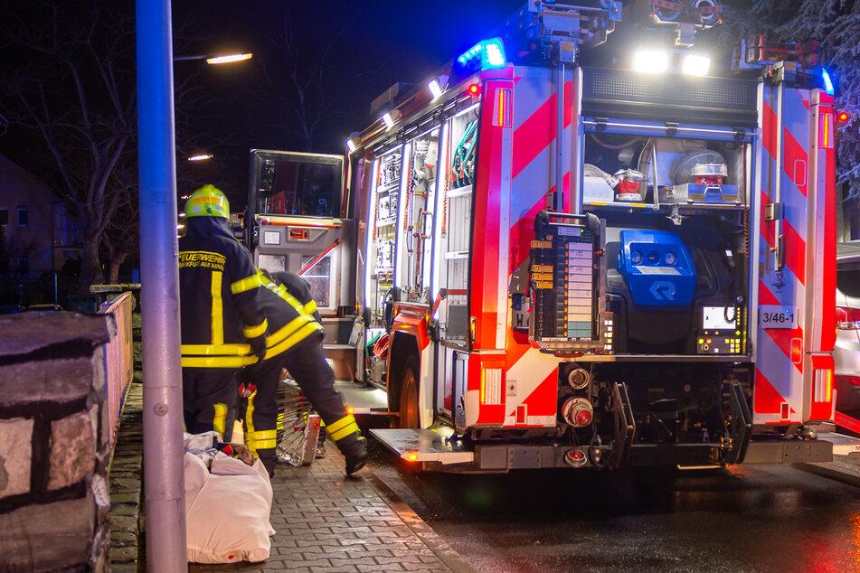 Gegen 20.05 Uhr war das Feuer in Frankfurt-Griesheim gelöscht.
