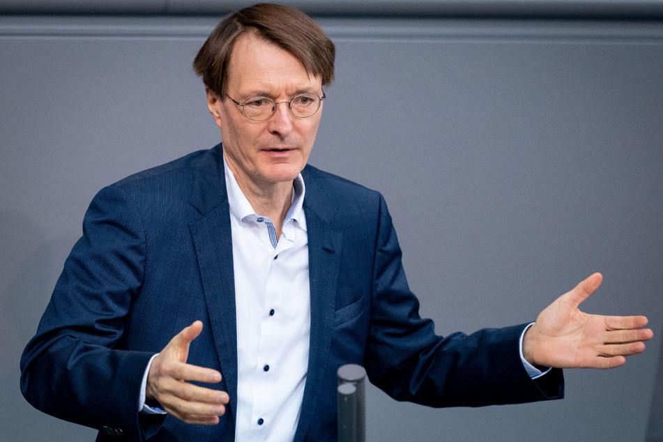 SPD-Mann Karl Lauterbach (57).