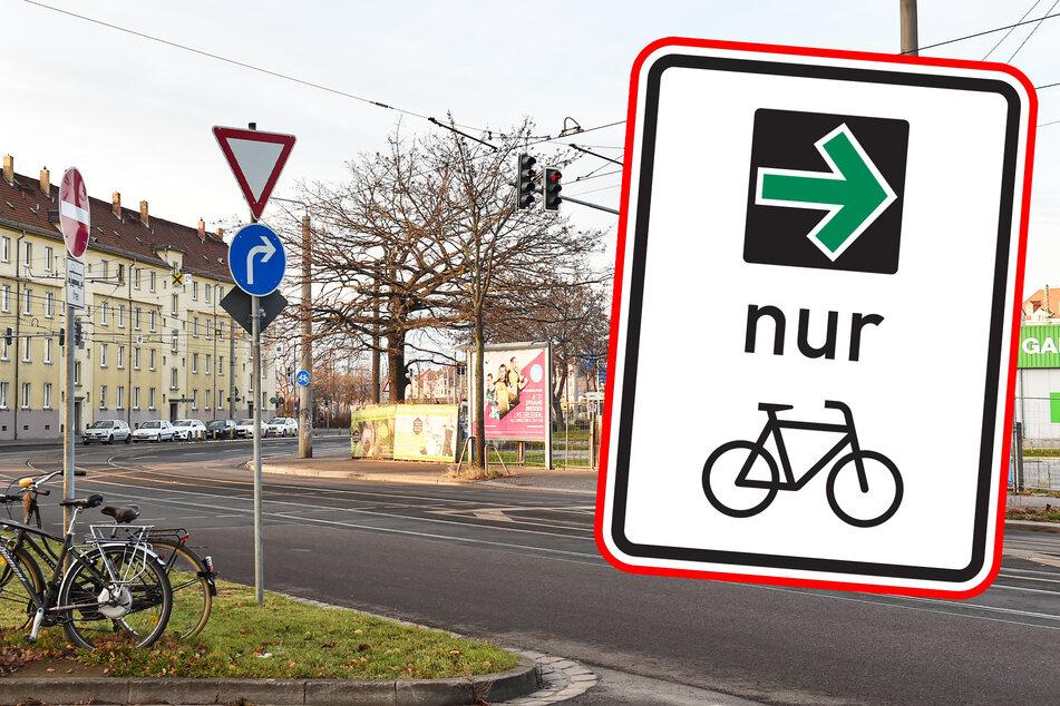 Freie Fahrt für Fahrradfahrer: Dresden plant Einsatz von neuem Grünen Pfeil!
