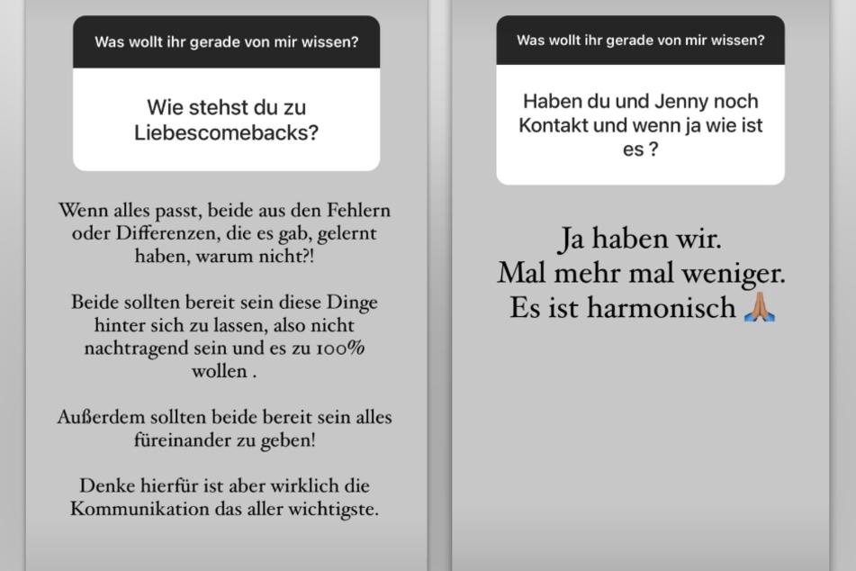 Andrej Mangold (34) sorgt in seiner Instagram-Story für Spekulationen um ein mögliches Liebes-Comeback mit Jennifer Lange (27).