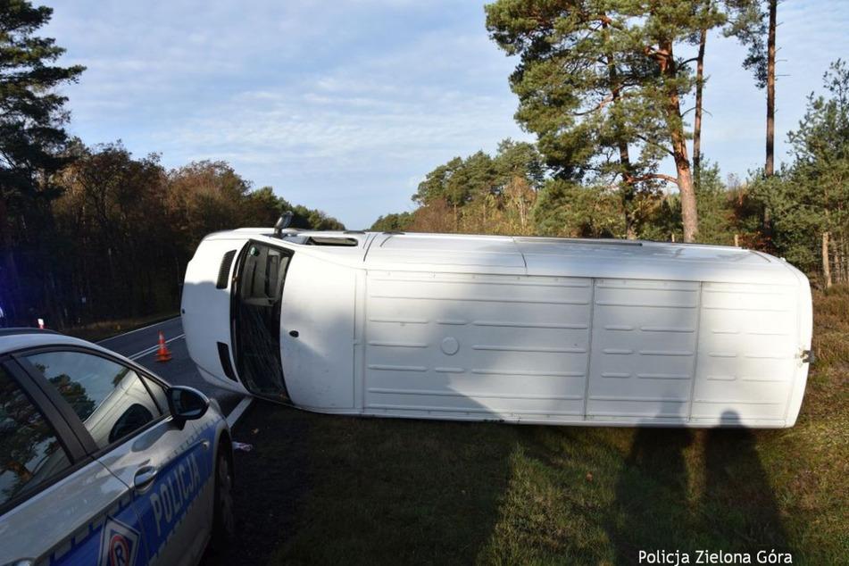 Der Unfall passierte bei Zielona Góra, etwa 50 Kilometer von der deutschen Grenze entfernt.