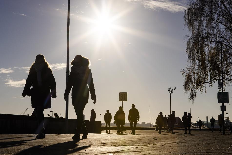 Im November war es vielerorts zu sonnig. Das war auch in Deutschland, wie hier in Kiel, spürbar.