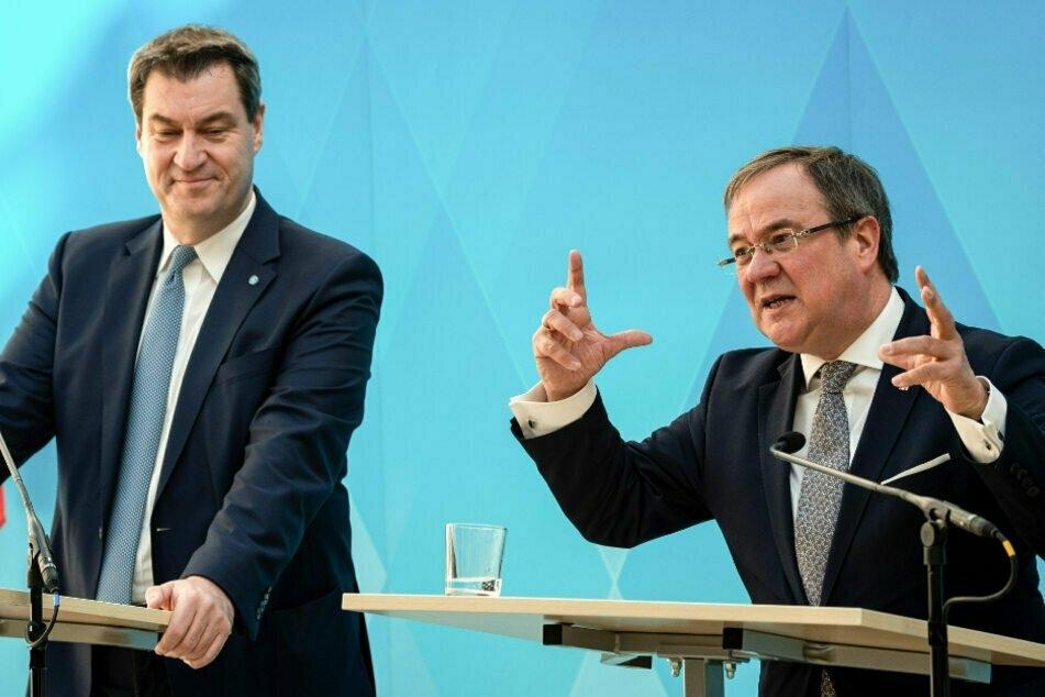 CSU-Boss Söder sagt Kanzlerkandidaten Laschet seine Unterstützung zu