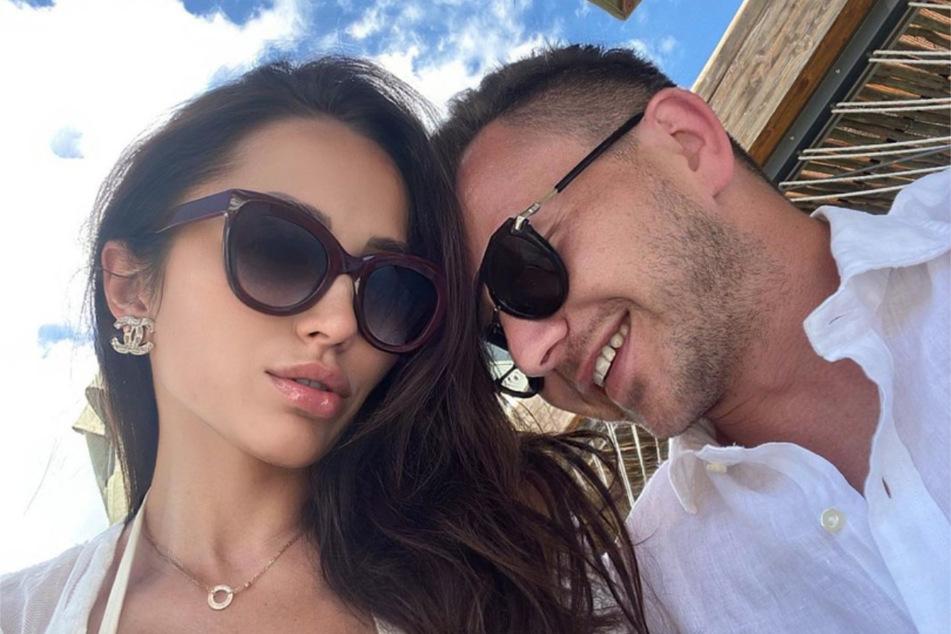 Anastasiya Avilova (32) und ihr Freund Daniel Roth sind seit einem Monat zusammen.
