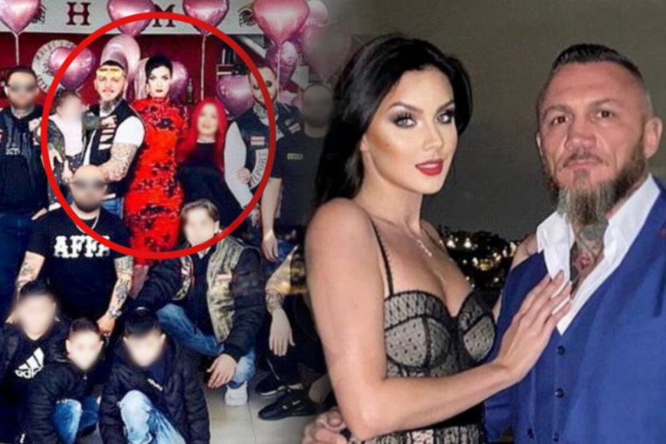 "Ex-GNTM-Model Nathalie Volk feiert Geburtstag mit ""Hells Angels""-Crew"