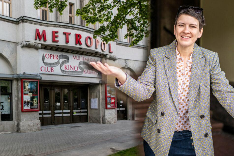 Metropol-Inhaberin Maret Wolff (42) freut sich nach langer Schließung auf Kino-Gäste.