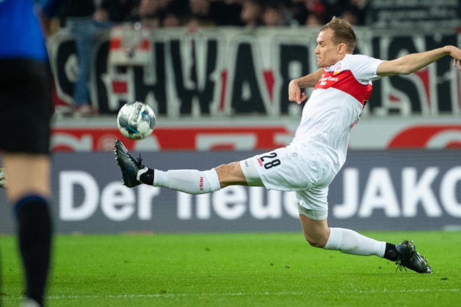 VfB-Verteidiger Holger Badstuber (31) in Action.