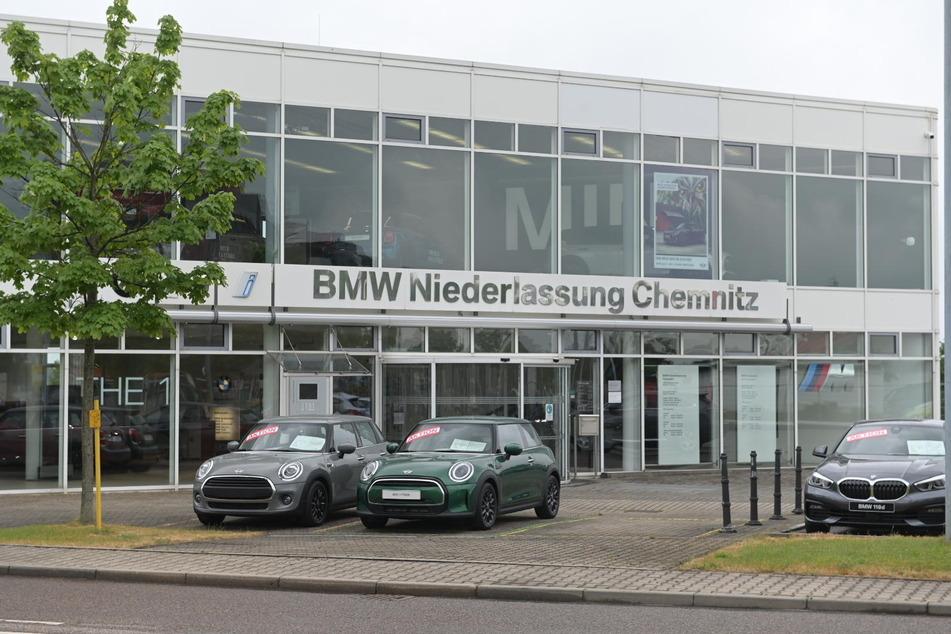 An der BMW-Niederlassung in Chemnitz soll am Donnerstagvormittag gestreikt werden.