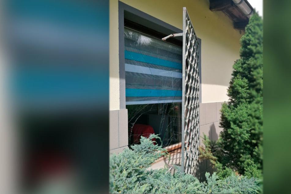 """Gitter aufgehebelt: Einbrecher suchten auch das Tierheim """"Neu Amerika"""" in Annaberg-Buchholz heim."""