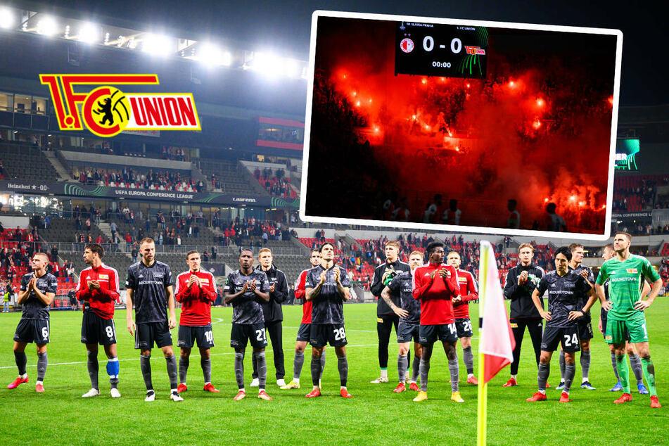 Union Berlin mit Euro-Party ohne Happy End: Fans feiern Spieler trotz Niederlage