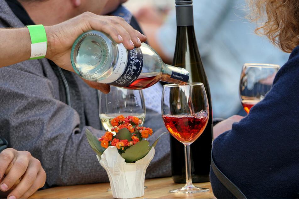Ob Rot-, Weiß- oder Roséwein - auf dem Weinfest in Annaberg ist für jeden Geschmack etwas dabei.