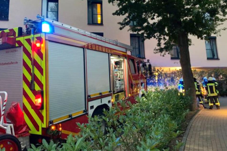 Die Feuerwehr Bad Salzuflen rückte am Montag zu einem Einsatz im Altenheim aus.