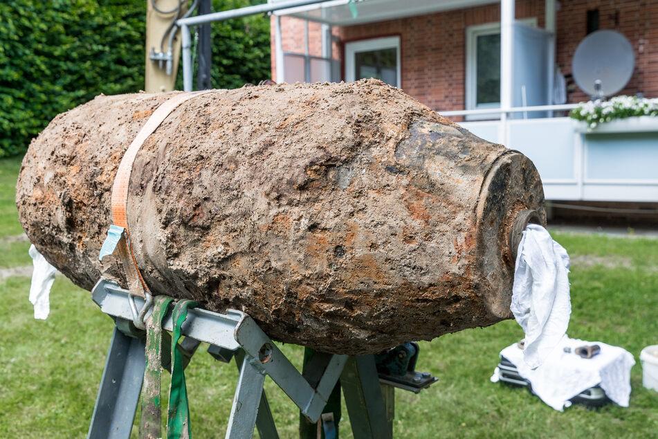 Erst vor wenigen Wochen hatten Experten diese Fliegerbombe entschärft.