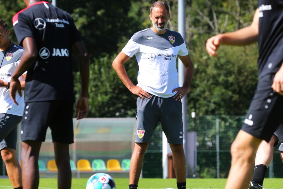 Freut sich über eine neue Alternative auf der linken Defensivseite: VfB-Coach Pellegrino Matarazzo (43).