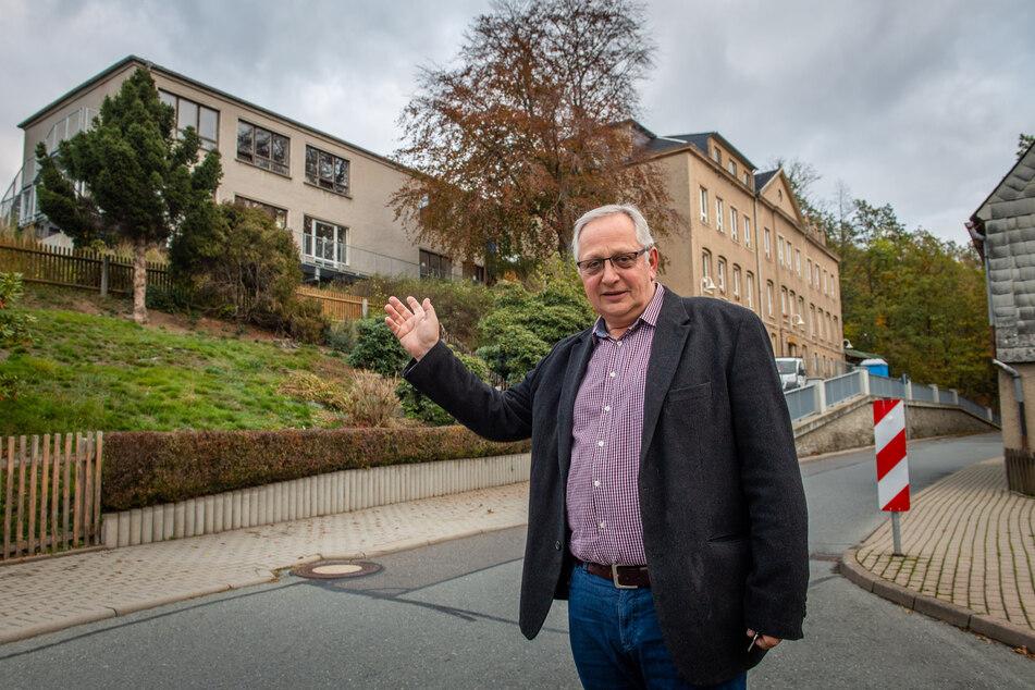 """Auch Klaffenbachs Ortsvorsteher Andreas Stoppke (60, Freie Wähler) ist """"enttäuscht von der Stadt"""""""