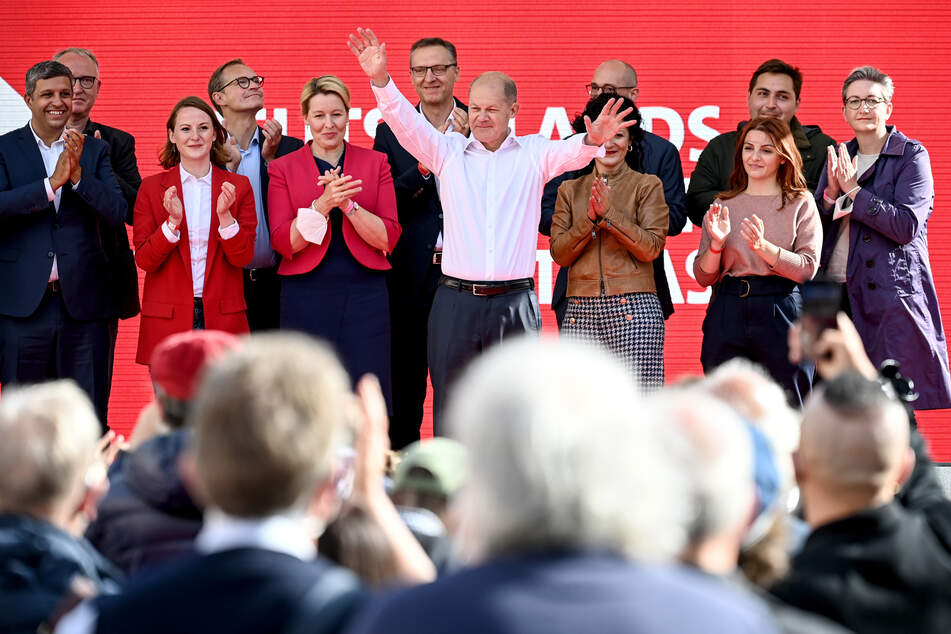 Könnte die SPD schon bald Deutschland regieren?